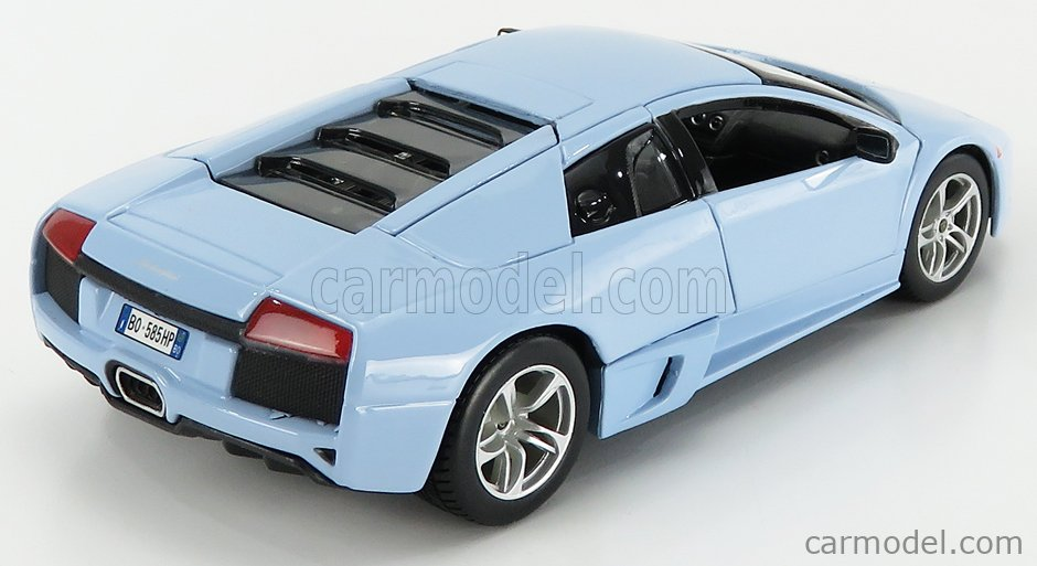 MAISTO 31292LB Scale 1/24  LAMBORGHINI MURCIELAGO LP640 2007 LIGHT BLUE
