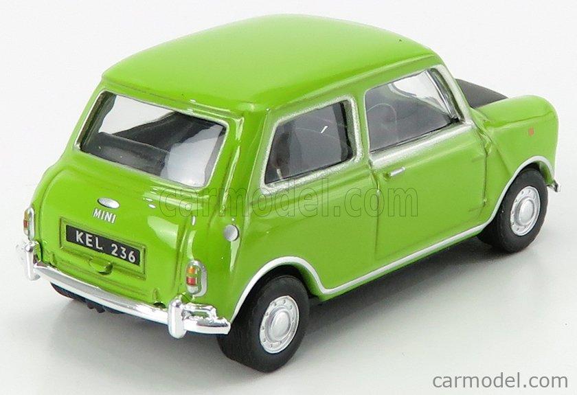 HONGWELL 41690 Echelle 1/43  AUSTIN MINI MR. BEAN 1970 GREEN BLACK