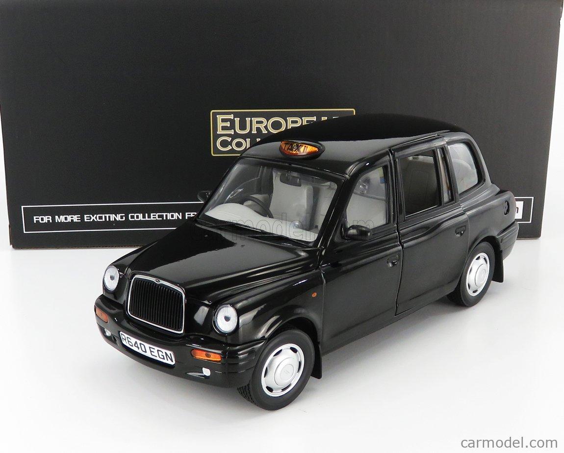 SUN-STAR 01127 Echelle 1/18  AUSTIN TX1 LONDON TAXI CAB 1998 BLACK