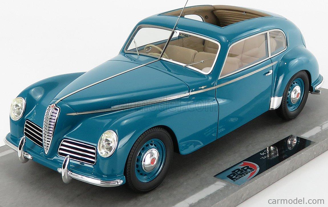 BBR-MODELS BBRC1812D Scale 1/18  ALFA ROMEO 6C 2500 FRECCIA D'ORO OPEN ROOF 1949 GREEN