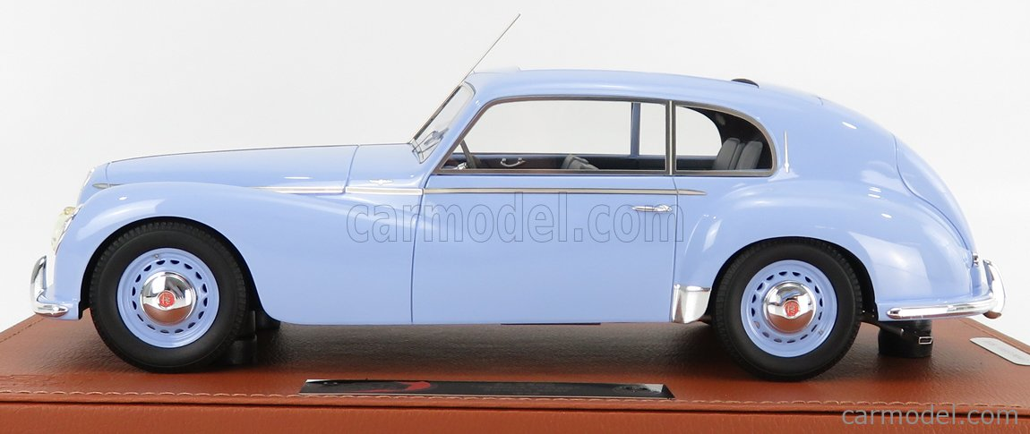 BBR-MODELS BBRC1812BV-VET Scale 1/18  ALFA ROMEO 6C 2500 FRECCIA D'ORO OPEN ROOF 1949 - CON VETRINA - WITH SHOWCASE LIGHT BLUE