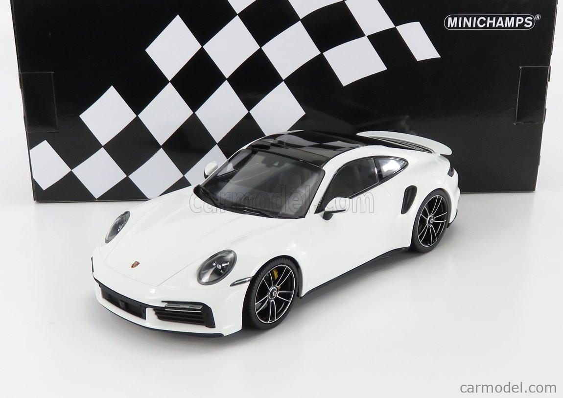 MINICHAMPS 153069078 Scale 1/18  PORSCHE 911 992 TURBO S COUPE 2020 WHITE