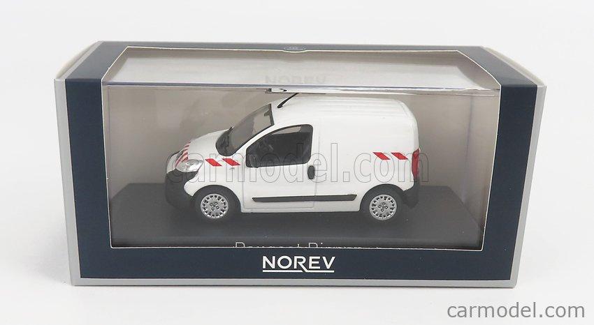 NOREV 479868 Scale 1/43  PEUGEOT BIPPER VAN 2009 WHITE