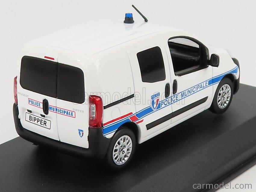 NOREV 479869 Scale 1/43  PEUGEOT BIPPER POLICE MUNICIPALE 2009 WHITE