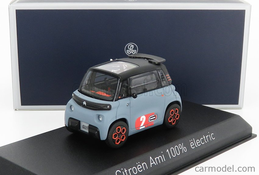 NOREV 151523 Scale 1/43  CITROEN AMI 100% ELECTRIC 2020 - MY AMI POP MATT LIGHT BLUE