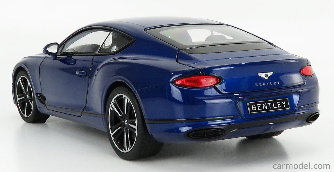 NOREV 182787 Scale 1/18  BENTLEY CONTINENTAL GT 2018 SEQUIN BLUE