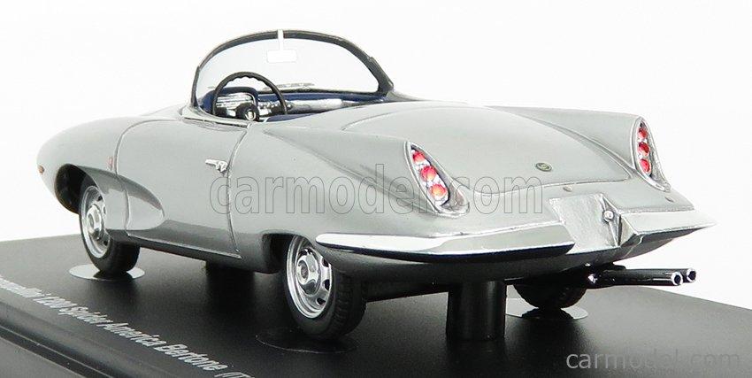 AVENUE43 ATC60053 Scale 1/43  FIAT STANGUELLINI 1200 SPIDER AMERICA BERTONE ITALY 1957 SILVER