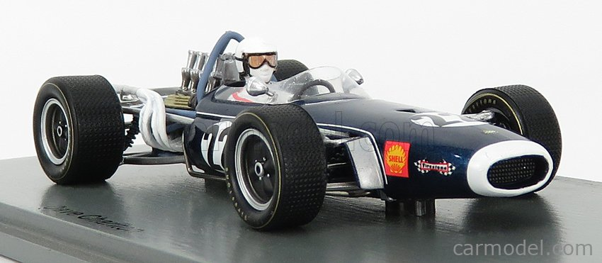 SPARK-MODEL S7089 Масштаб 1/43  BRABHAM F1  BT11 N 22 SOUTH AFRICAN GP 1968 D.CHARLTON BLUE