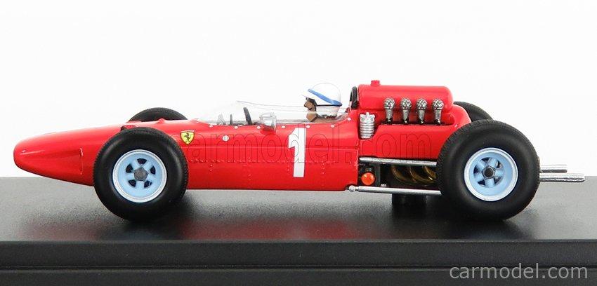 LOOKSMART LSRC069 Escala 1/43  FERRARI F1  158 N 1 BELGIUM GP 1965 J.SURTEES RED