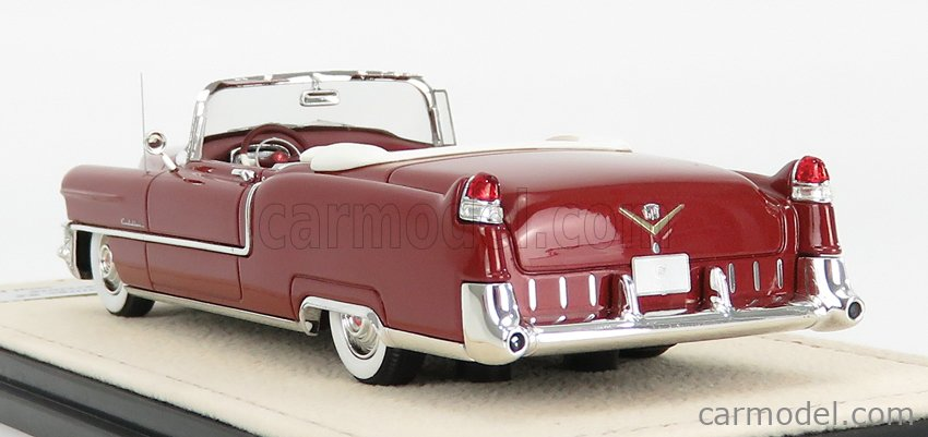 STAMP-MODELS STM55305 Scale 1/43  CADILLAC SERIES 62 CABRIOLET OPEN 1955 BROWN