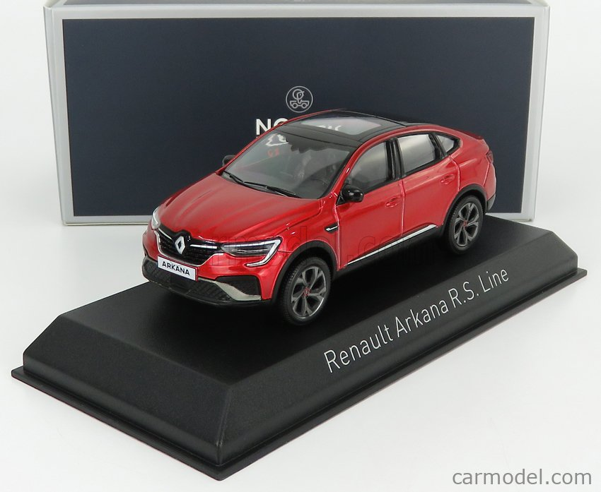 NOREV 517683 Scale 1/43  RENAULT ARKANA RS LINE 2021 FLAMME RED