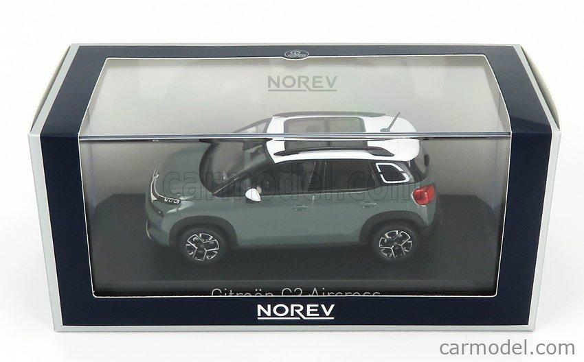 NOREV 155335 Scale 1/43  CITROEN C3 AIRCROSS 2021 KAKI GREY WHITE