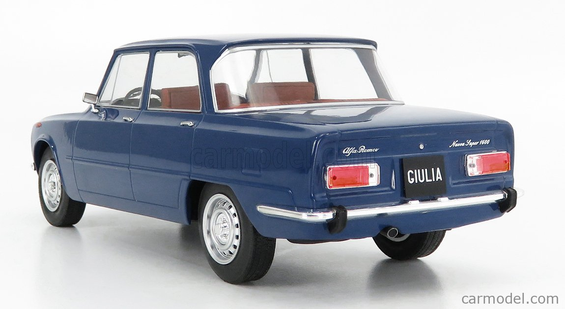 MCG MCG18147 Масштаб 1/18  ALFA ROMEO NUOVA GIULIA 1600 SUPER 1974 BLUE