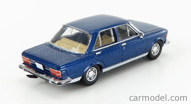PREMIUM CLASSIXXS PCX870057 Echelle 1/87  FIAT 130 1969 BLUE MET