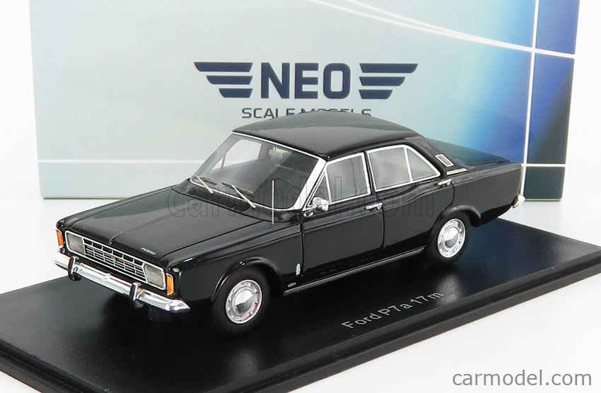 NEO SCALE MODELS NEO44352 Scale 1/43  FORD ENGLAND P7A 17M 1966 BLACK