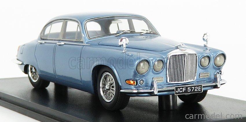 NEO SCALE MODELS NEO49572 Escala 1/43  JAGUAR 420 RHD 1967 LIGHT BLUE MET