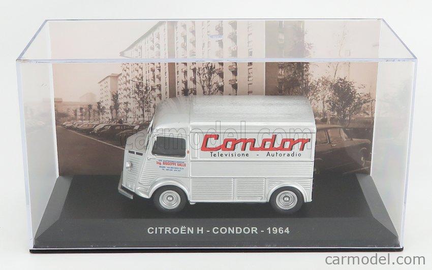 EDICOLA VCDE024 Echelle 1/43  CITROEN H-TYPE VAN CONDOR 1954 SILVER