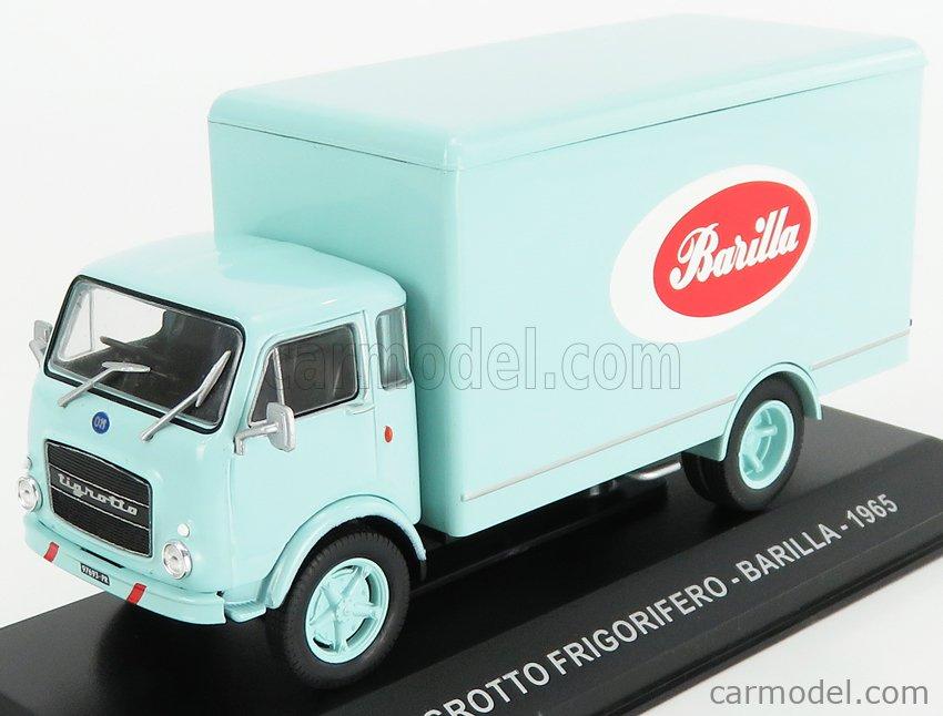 EDICOLA VCDE022 Escala 1/43  OM FIAT TIGROTTO TRUCK FRIGORIFERO BARILLA 1965 VERY LIGHT GREEN