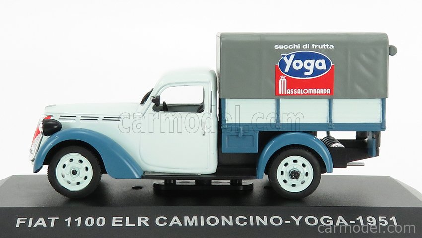 EDICOLA VCDE018 Scala 1/43  FIAT 1100 ELR PICK-UP TELONATO CAMIONCINO YOGA 1951 2 TONE BLUE