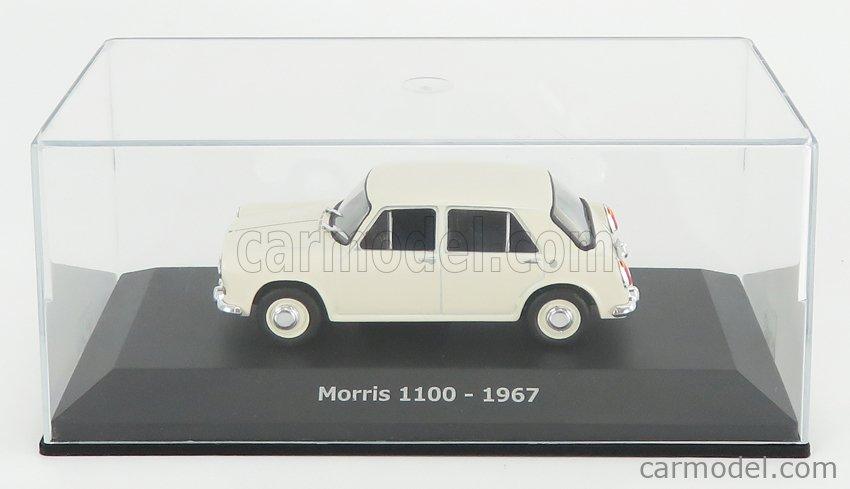 EDICOLA ABADD106 Echelle 1/43  MORRIS 1100 1967 - CON VETRINA - WITH SHOWCASE WHITE