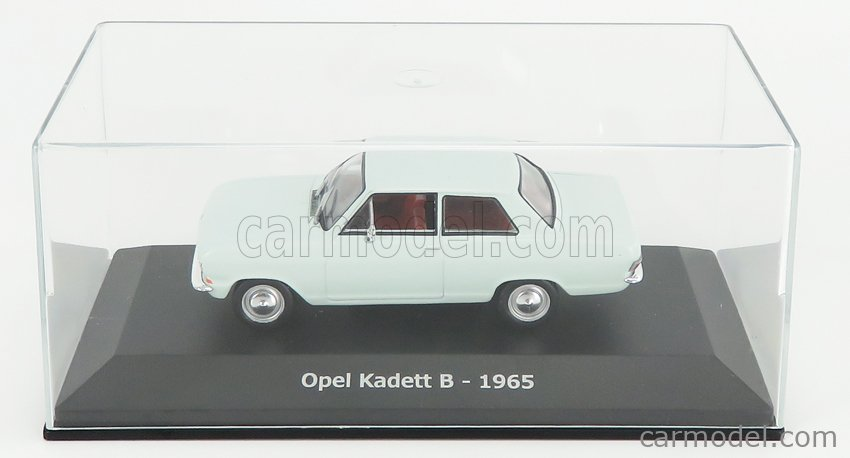 EDICOLA ABADD101 Scale 1/43  OPEL KADETT B 1965 - CON VETRINA - WITH SHOWCASE VERY LIGHT BLUE