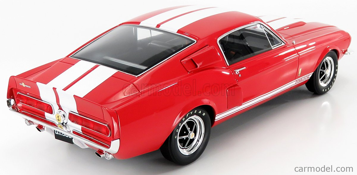 OTTO-MOBILE G056 Echelle 1/12  FORD USA MUSTANG SHELBY GT500 COUPE 1967 RED