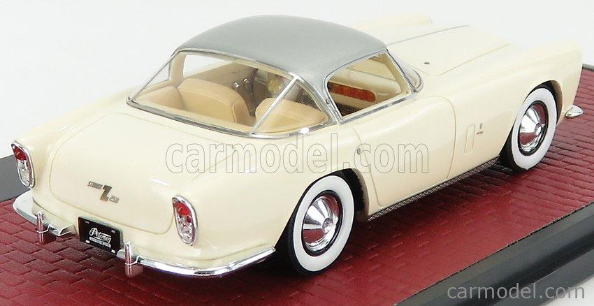 MATRIX SCALE MODELS MX40405-012 Масштаб 1/43  DODGE STORM ZEDER Z-250 BERTONE 1953 WHITE