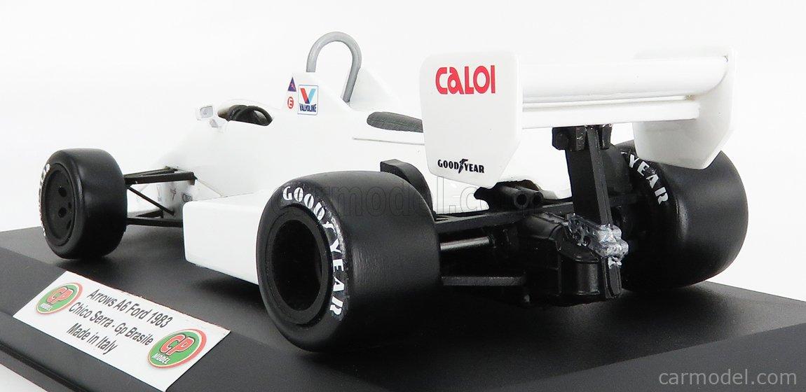 CP-MODEL CPBM007 Masstab: 1/18  ARROWS F1  A6 FORD CALOI N 30 BRAZIL GP 1983 C.SERRA WHITE