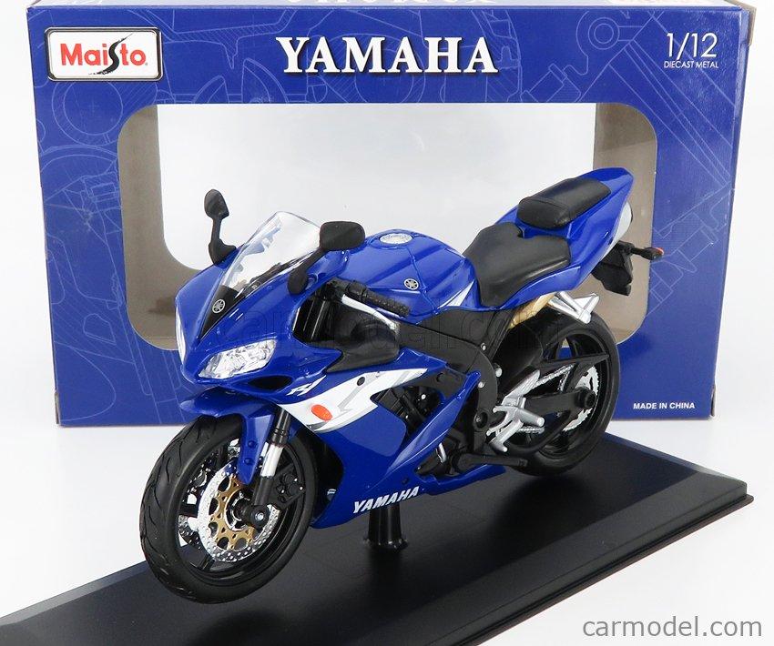 MAISTO 32712 Scale 1/12  YAMAHA YZF-R1 BLUE WHITE