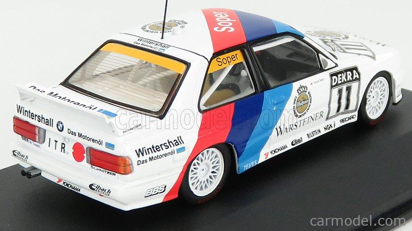 CMR CMR43062 Scale 1/43  BMW BMW 3-SERIES M3 (E30) TEAM BIGAZZI N 11 DTM SEASON 1991 S.SOPER WHITE BLUE RED