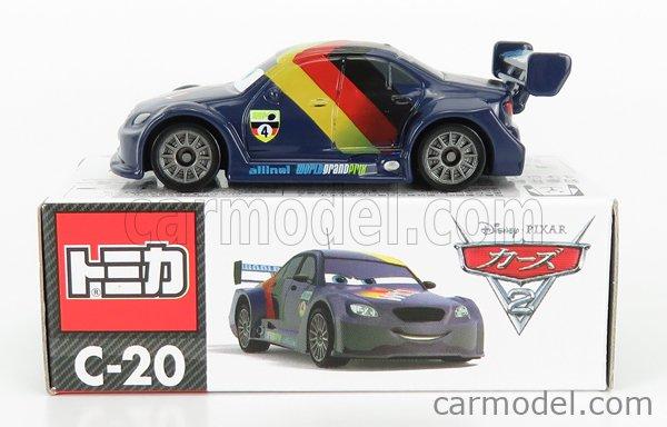 TOMICA C20 Scale 1/64  WALT DISNEY PIXAR CARS - MAX SCHNELL BLUE