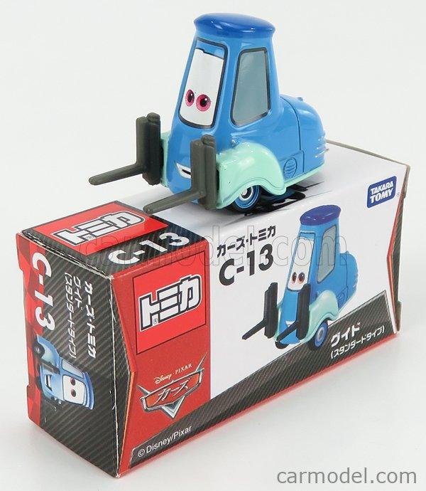 TOMICA C13 Scale 1/64  WALT DISNEY PIXAR CARS - GUIDO LIGHT BLUE