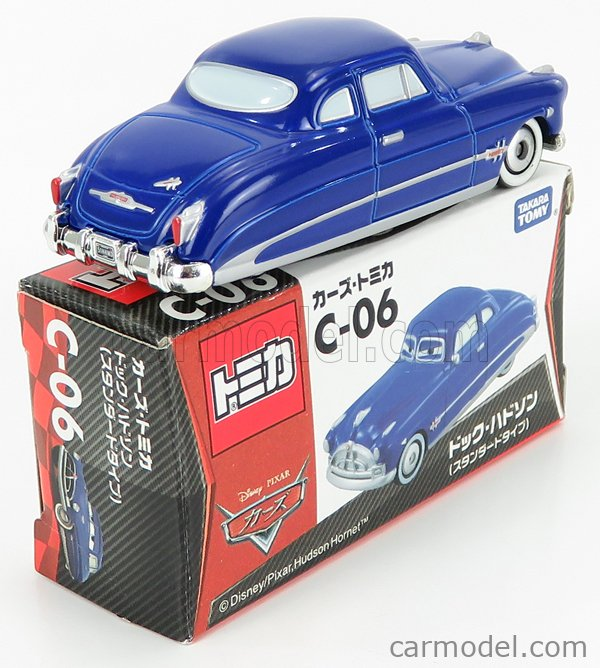 TOMICA C06 Scale 1/64  WALT DISNEY PIXAR CARS - DOCK HUDSON BLUE