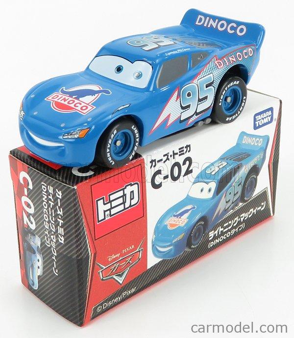 TOMICA C02 Scale 1/64  WALT DISNEY PIXAR CARS - LIGHTNING MCQUEEN BLUE
