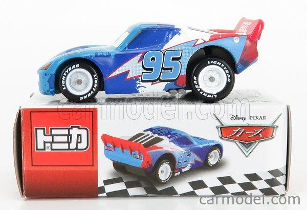 TOMICA 835981 Scale 1/64  WALT DISNEY PIXAR CARS - LIGHTNING MCQUEEN RAOUL CAROUL PAINT BLUE RED