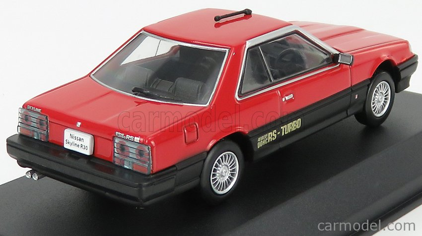 NOREV 420183 Scale 1/43  NISSAN SKYLINE R30 HARD TOP 2000 TURBO RS-X 1983 RED