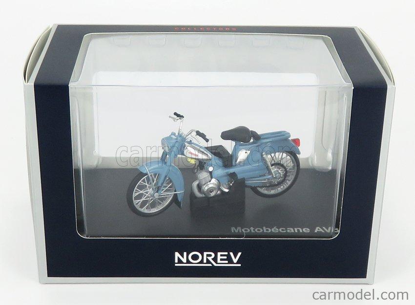 NOREV 182057 Scale 1/18  MOTOBECANE AV88 1976 LIGHT BLUE