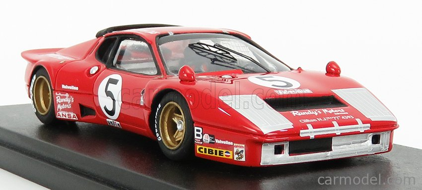REMEMBER 144232 Echelle 1/43  FERRARI 365 GT4/BB 4.9L TEAM N.A.R.T. N 5 24h DAYTONA 1978 F.MIGAULT - L.GUITTENY - G.YOUNG RED