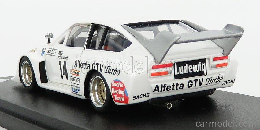 REMEMBER 144233 Echelle 1/43  ALFA ROMEO GTV TURBO gr.5 N 14 DRM ZOLDER 1979 H.ISERT WHITE