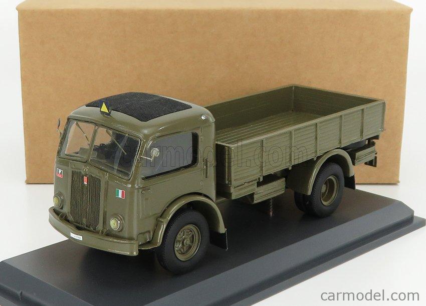 IV-MODEL TIPMK141 Echelle 1/43  FIAT 666 TRUCK CARABINIERI 1941 MILITARY GREEN