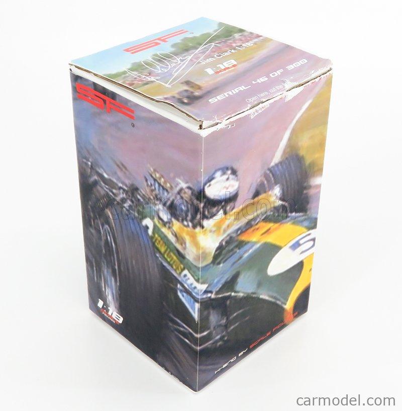 SF-SCALEFIGURES SF118051 Echelle 1/18  FIGURES F1  PILOT DRIVER JIM CLARK VERY LIGHT BLUE