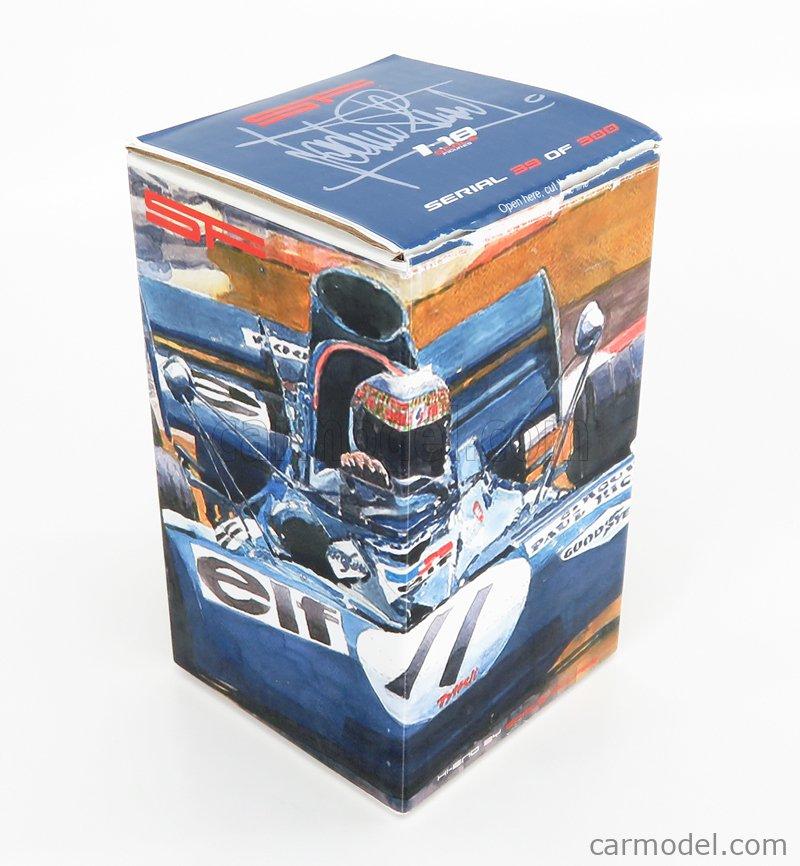 SF-SCALEFIGURES SF118113 Echelle 1/18  FIGURES F1  PILOT DRIVER JACKIE STEWART LIGHT BLUE