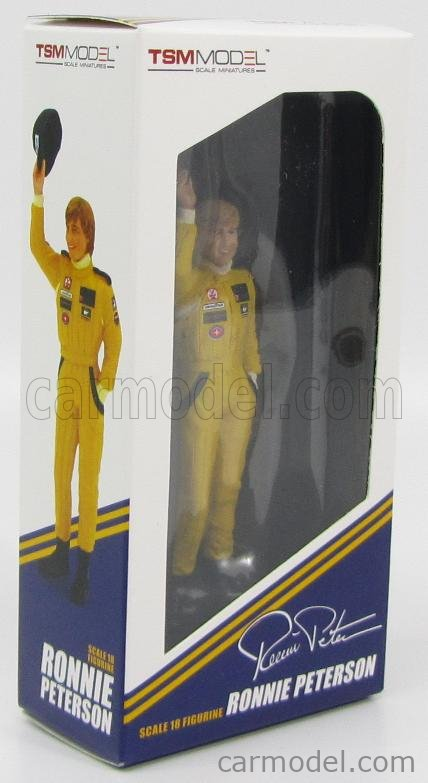 TRUESCALE TSM12AC18 Masstab: 1/18  FIGURES F1  RONNIE PETERSON TEAM LOTUS 1978 YELLOW
