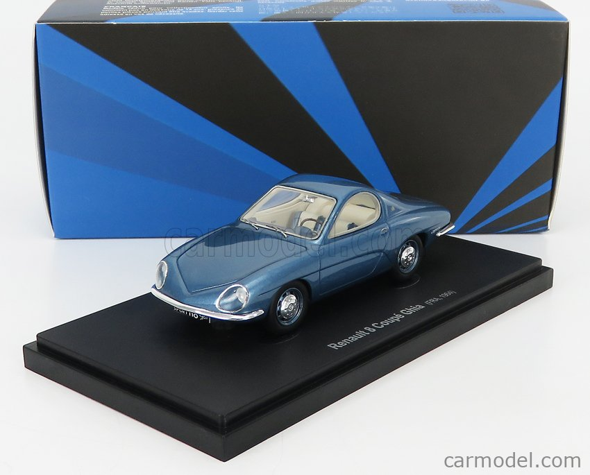 AVENUE43 ATC60062 Scale 1/43  RENAULT R8 COUPE GHIA FRANCE 1964 BLUE MET