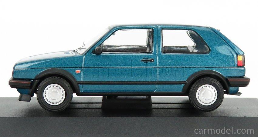 VANGUARDS VA13606 Scale 1/43  VOLKSWAGEN GOLF MKII GTi 1986 MONZA BLUE