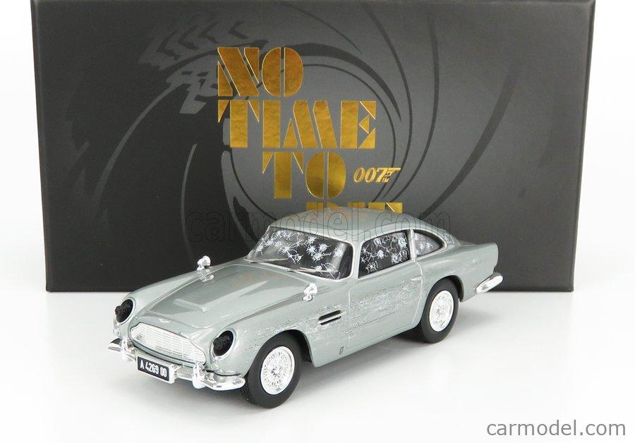 CORGI CC04314 Масштаб 1/36  ASTON MARTIN DB5 1965 - 007 JAMES BOND - NO TIME TO DIE - NON E' TEMPO PER MORIRE GREY