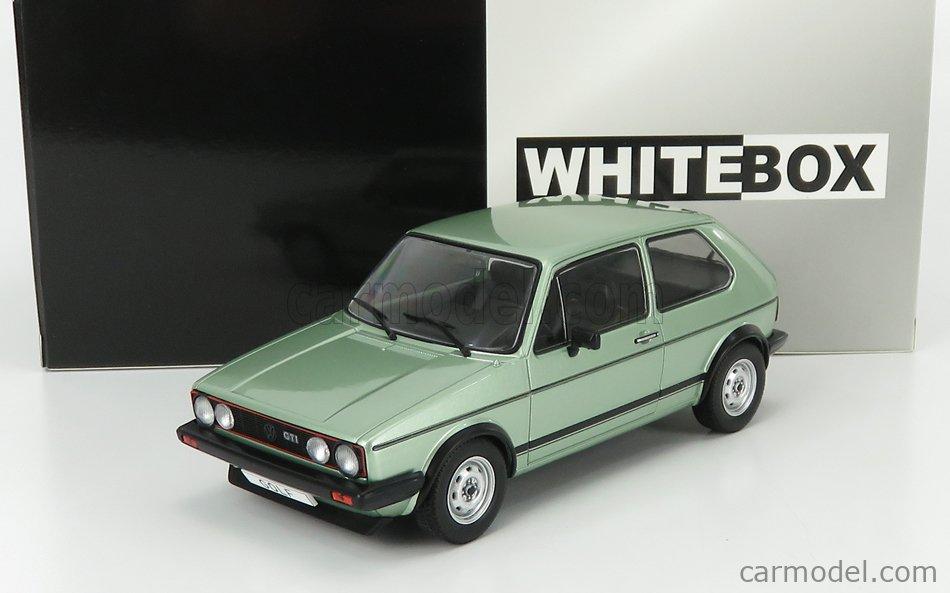 WHITEBOX WB124056 Scale 1/24  VOLKSWAGEN GOLF GTi 1983 LIGHT GREEN MET