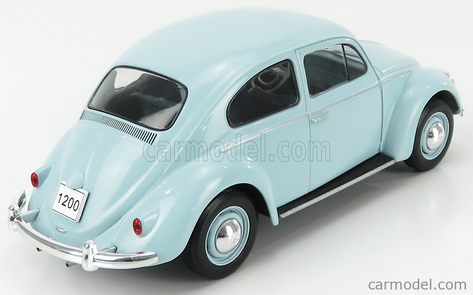 WHITEBOX WB124055 Scale 1/24  VOLKSWAGEN BEETLE MAGGIOLINO KAFER 1960 LIGHT BLUE