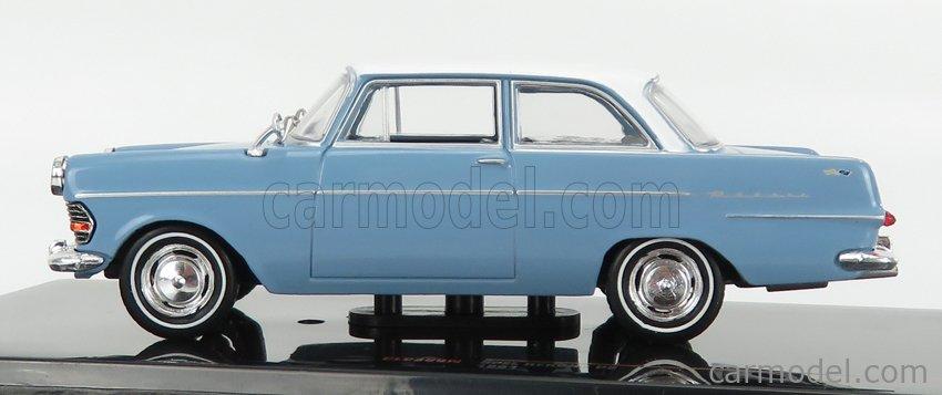 IXO-MODELS CLC360N Scale 1/43  OPEL REKORD P2 1961 LIGHT BLUE WHITE