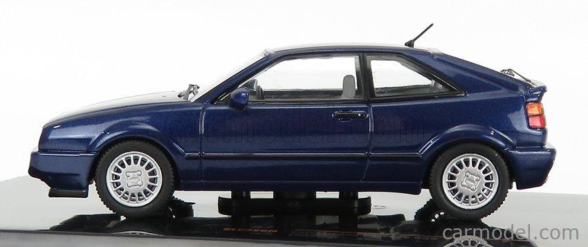 IXO-MODELS CLC356N Scale 1/43  VOLKSWAGEN CORRADO G60 1989 BLUE MET